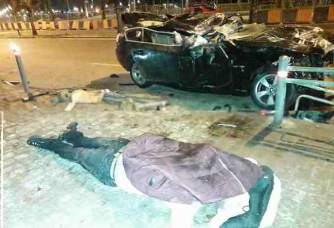 حادثة سير خطيرة قرب كورنيش مسجد الحسن الثاني تزهق روح أحد السائقين