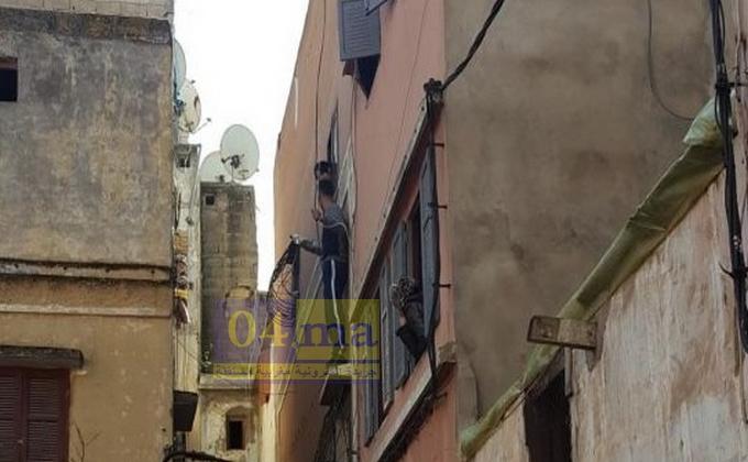 ذوي سوابق العدلية يحاول الإنتحار بعد مطاردة الشرطة له في سباتة