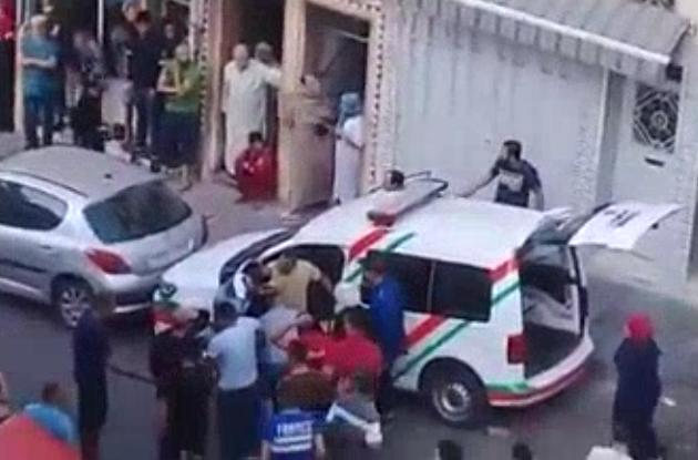 أول فيديو من عين الشق للصراع بين الشرطة و أحد المطلوبين للعدالة+ بلاغ مديرية الأمن