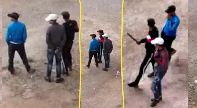 بالفيديو: عصابة تسلب ممتلكات المارة نهارا بالسالمية 2