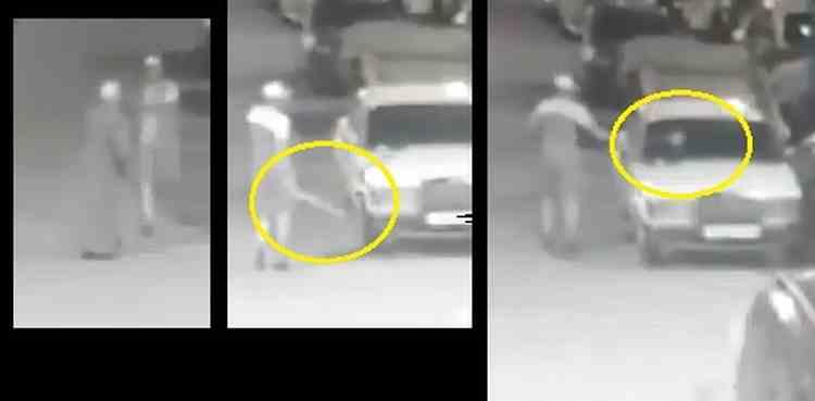 فيديو: مشرمل يكسر سيارات بحي مولاي رشيد و يحاول الإعتداء على مسن