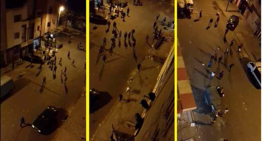 فيديو: حرب العصابات في حي الفلاح بالدارالبيضاء