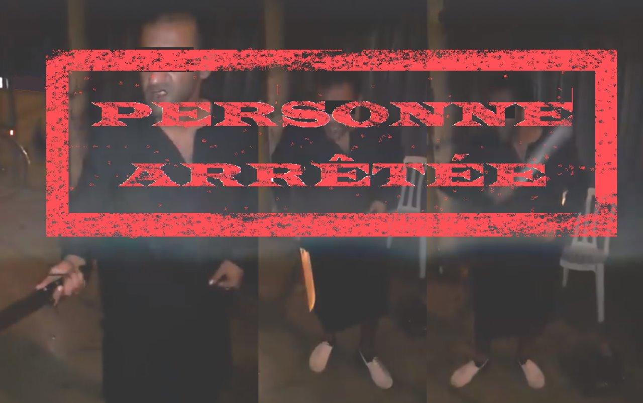 توقيف شخص حرض على ارتكاب اعتداءات ضد الأشخاص والممتلكات في شريط فيديو