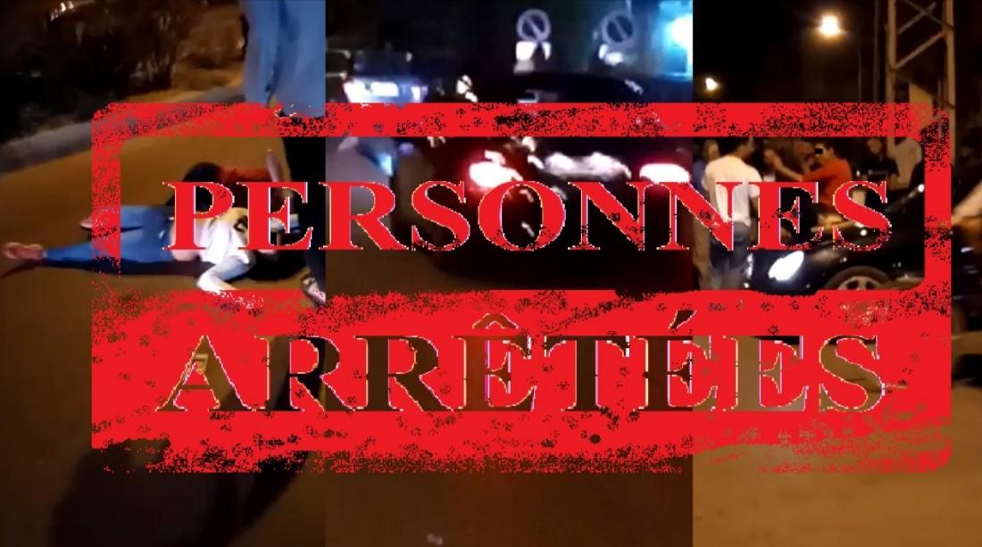 الأمن يدخل على خط فيديو مول طاكسي و البنات لي كانو في حالة سكر