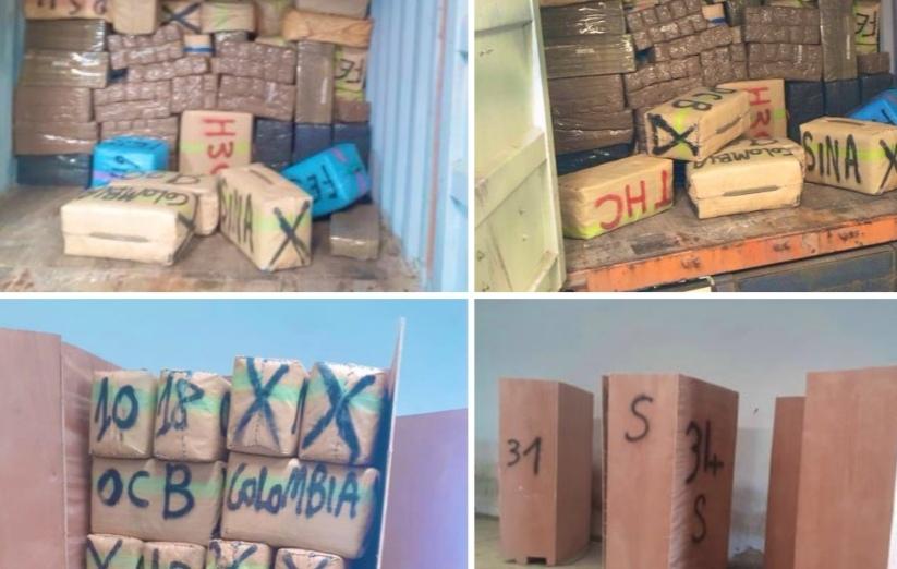 فتح بحث قضائي لتوقيف المتورطين في محاولة تهريب 16 طن و200 كيلوغرام من مخدر الشيرا