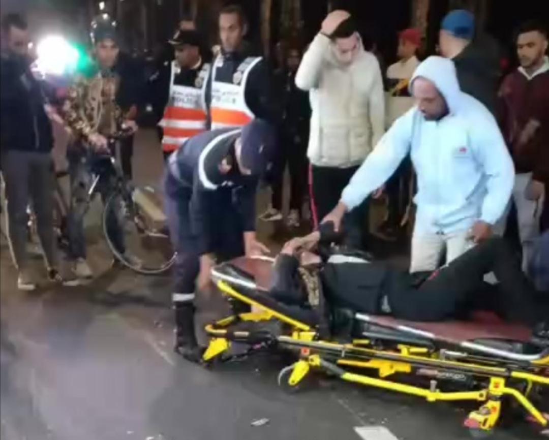 فيديو… حادثة سير خطييرة بطريق عين الذياب بالدار البيضاء