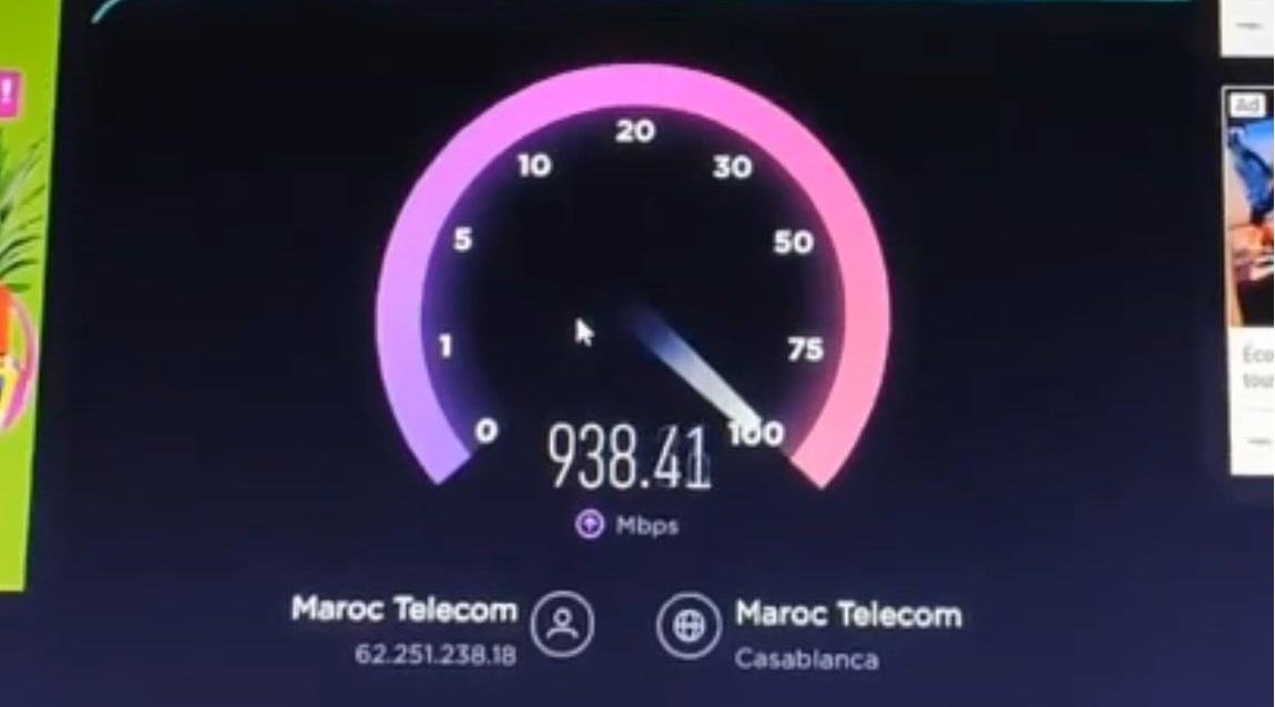 فيديو: أول تجربة سرعة أنترنت 5G لإتصلات المغرب خلال المرحلة التجريبية.. سرعة خيالية !