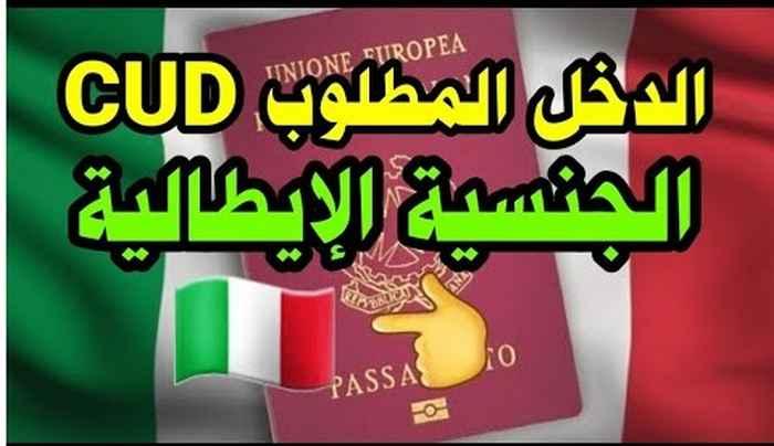 الحد الأدنى للدخل المطلوبة للحصول على الجنسية الإيطالية عن طريق الإقامة