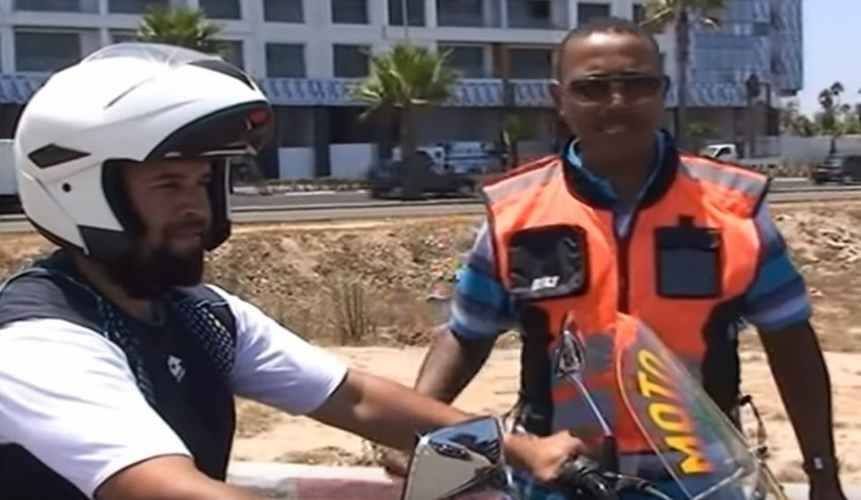 مراحل إجتياز إمتحان رخصة الدراجة بالمغرب