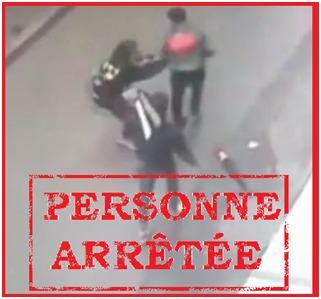 توقيف شخص بعد إنتشار فيديو لسرقة تحت التهديد بالسلاح الأبيض