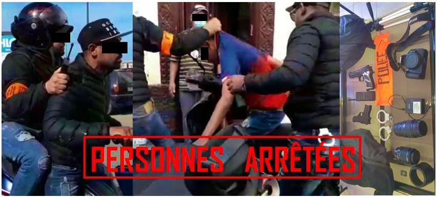 الدار البيضاء.. توقيف شخصين بعد نشر فيديو إنتحال صفة شرطيين