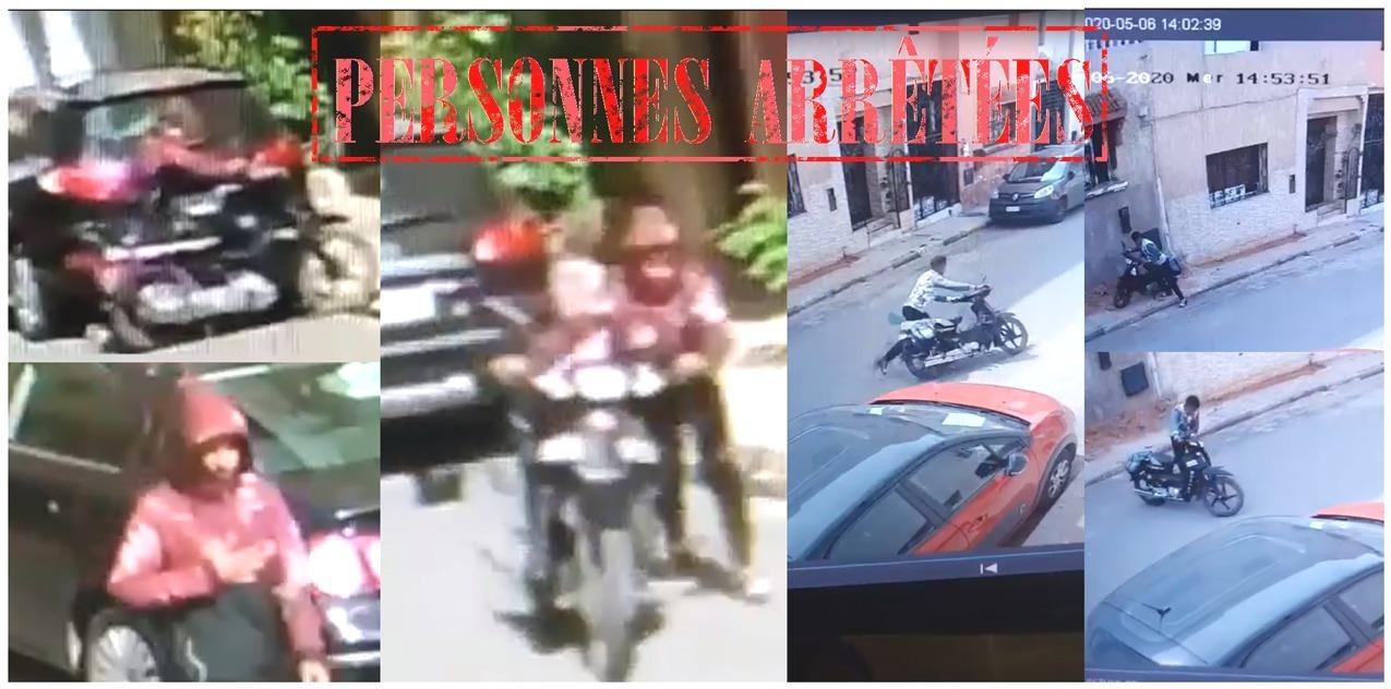 أمن الحي الحسني يوقف عصابة سرقة الدراجات نارية