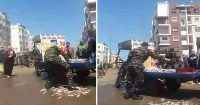 """بعد فيديو """"مول الحوت""""… الداخلية تعاقب القائد"""