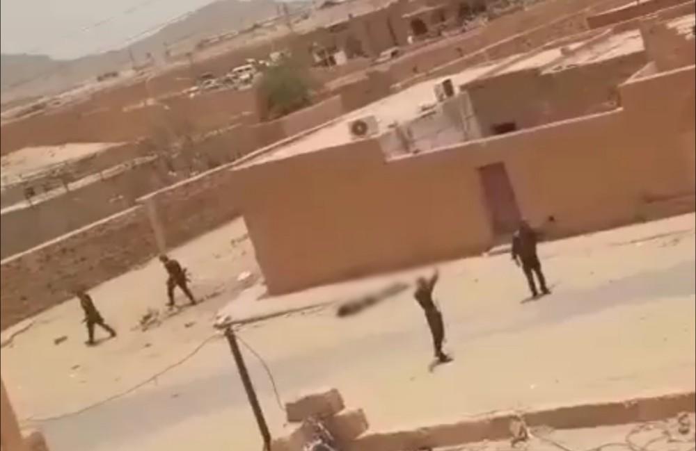 فيديو.. مضاهرات بعاصمة الغاز الجزائري و سقوط قتلى برصاص الجيش