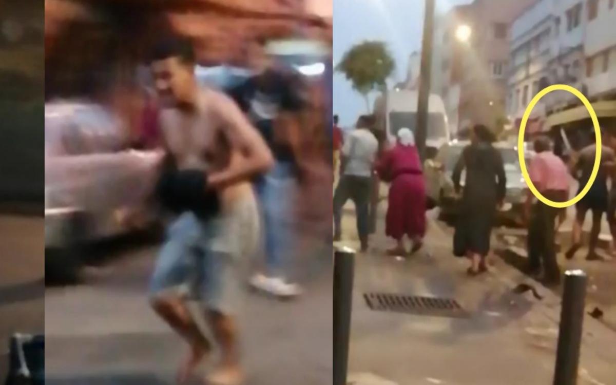 فيديو.. صراع بجناوا عشية العيد في قيسارية سباتة!
