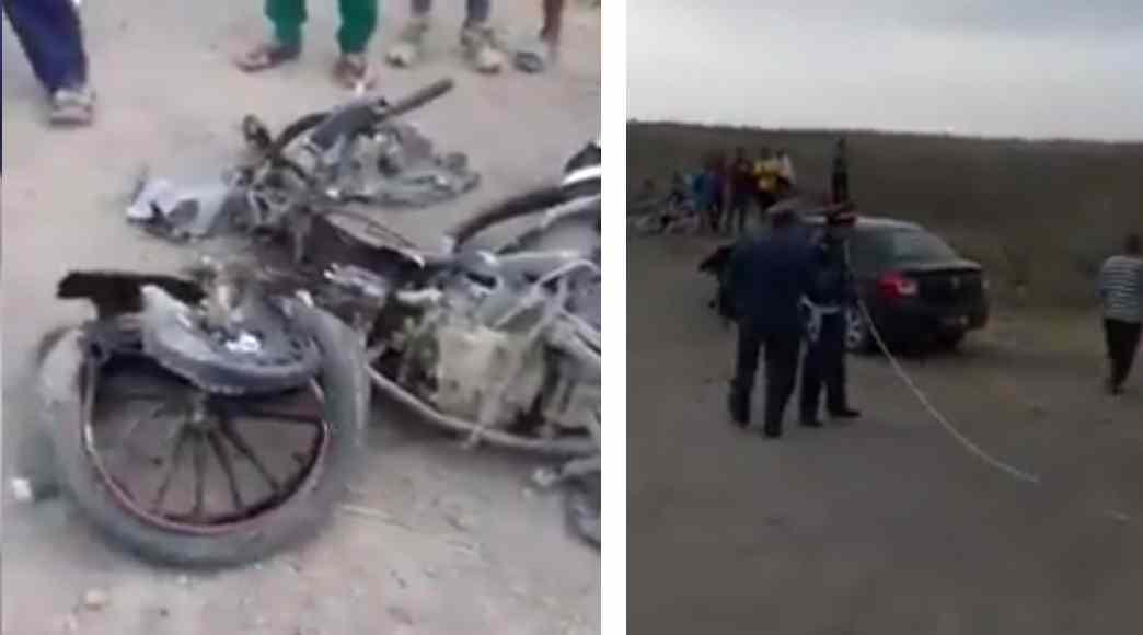 فيديو… قائد بسيدي سليمان يتسبب في مصرع مواطن في حادثة سير
