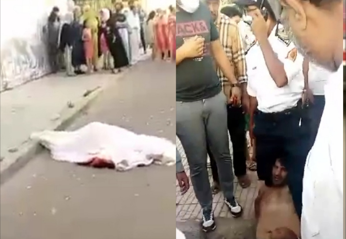 جريمة قتل بحي السلام الالفة و الأمن يوقف الجاني قبل فراره