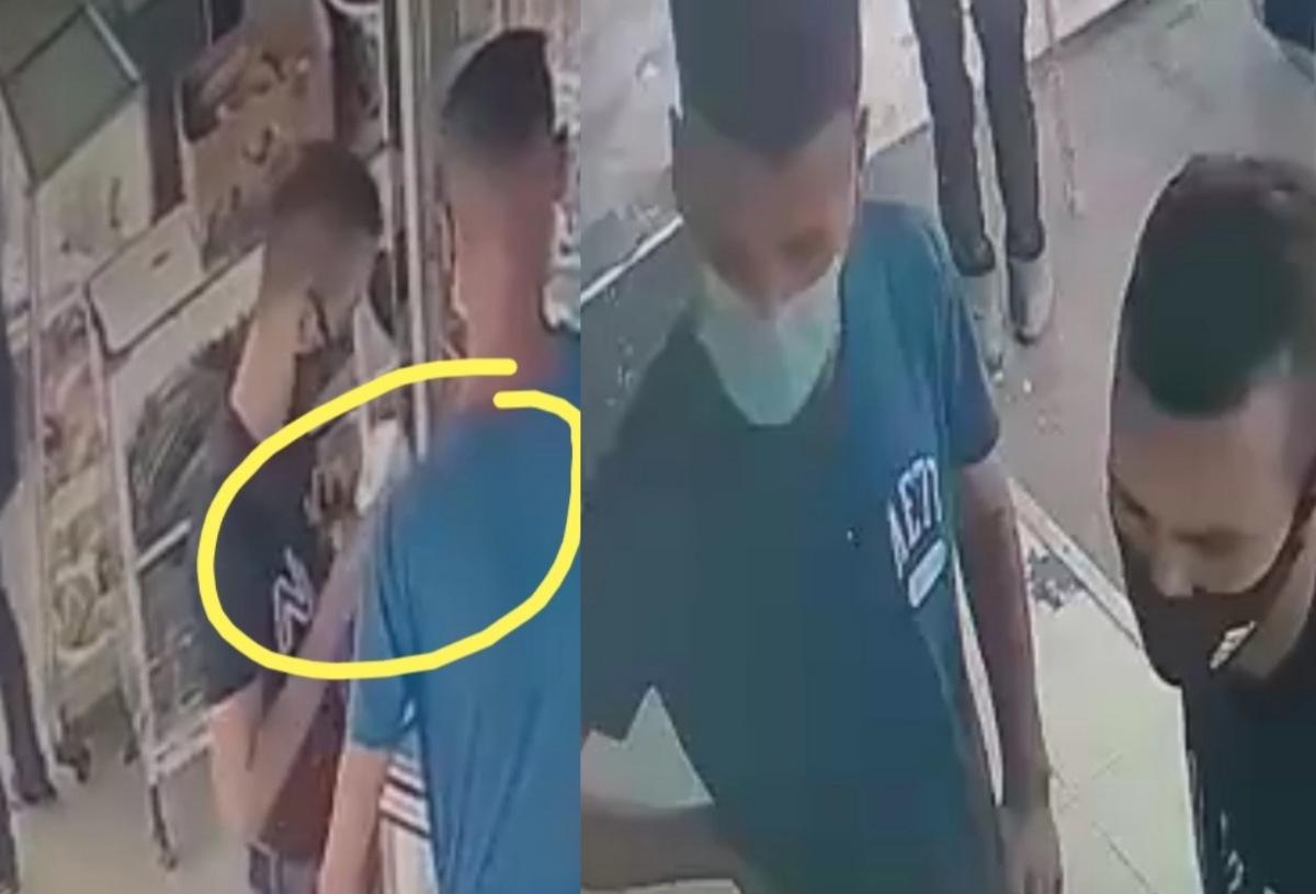 """فيديو: سرقة هاتفين من وسط """"فيترينا"""" بحي الألفة"""