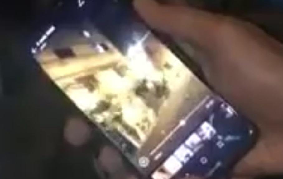 فيديوهات للحظة سقوط منزل المسعودية بسباتة