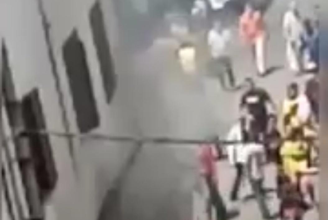 فيديو.. حريق بمصبنة بدرب الحجر في سباتة