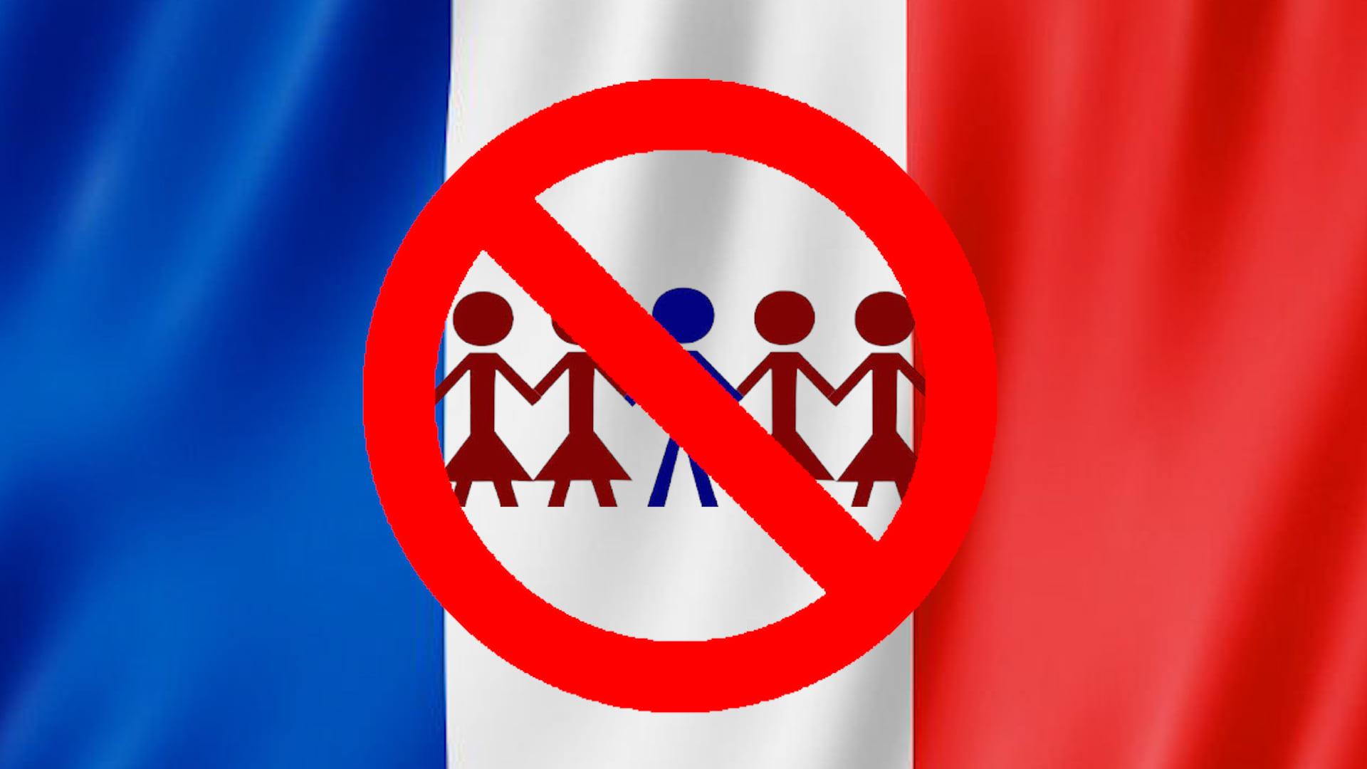 فرنسا تهدد متعددي الزوجات الأجانب بالطرد من أراضيها