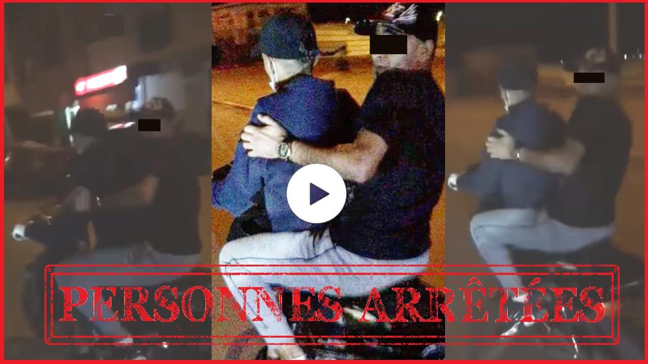 الامن يتفاعل مع فيديو سرقة بدراجة نارية ويوقف شخصين