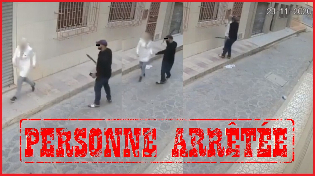 توقيف لص تعرض لفتاة بالناظور تحت التهديد بالسلاح الأبيض