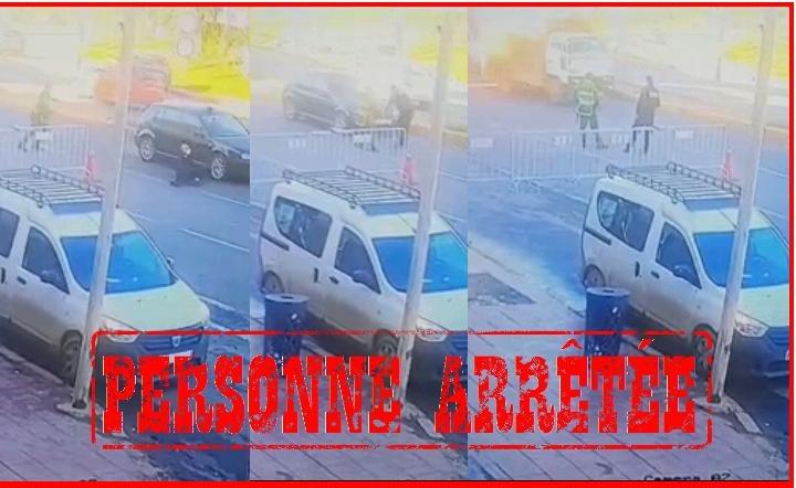 توقيف داهس شرطي عند نقطة المراقبة بسيدي عثمان