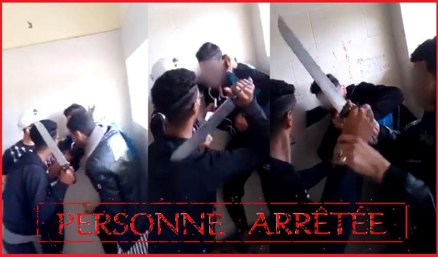 مولاي رشيد: توقيف تلميذ هدد زميلا له بالسلاح الأبيض وسط مؤسسة تعليمية