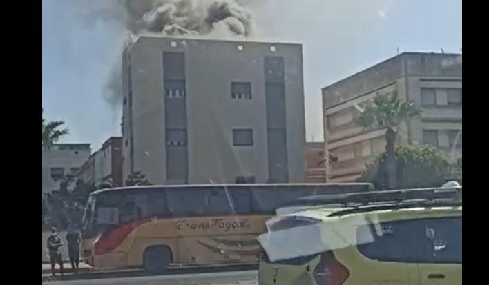 حريق منزل بسباتة